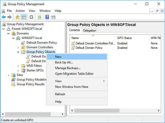 Using ActiveExit to manage Group Policy Objects