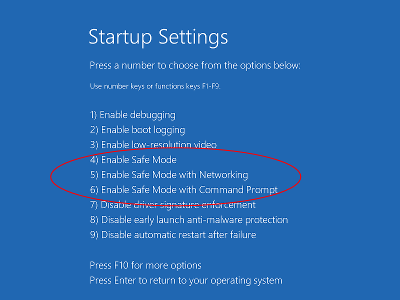 Restarting Windows 10 and Windows 8 in the safe mode | WinAbility