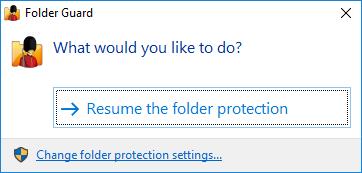 how to set a folder to hidden