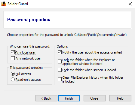itextsharp create password protected pdf