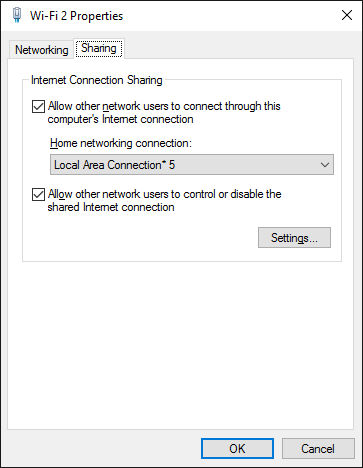 Make your Windows laptop work as a Wi-Fi access point